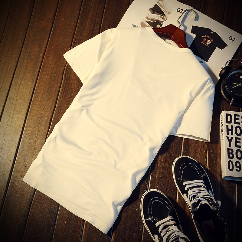 New Arrival Men t shirt Print T-shirt Men High Quality Cotton Short Sleeve T Shirts Men Loose O-Neck T-shirts Plus Size S-4XL 18