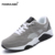 2017 Ocasionales de Los Hombres Zapatos de Primavera Cuñas Clásicos Zapatos Leathe Zapatos de Lona Transpirable Zapatillas Deportivas Hombre