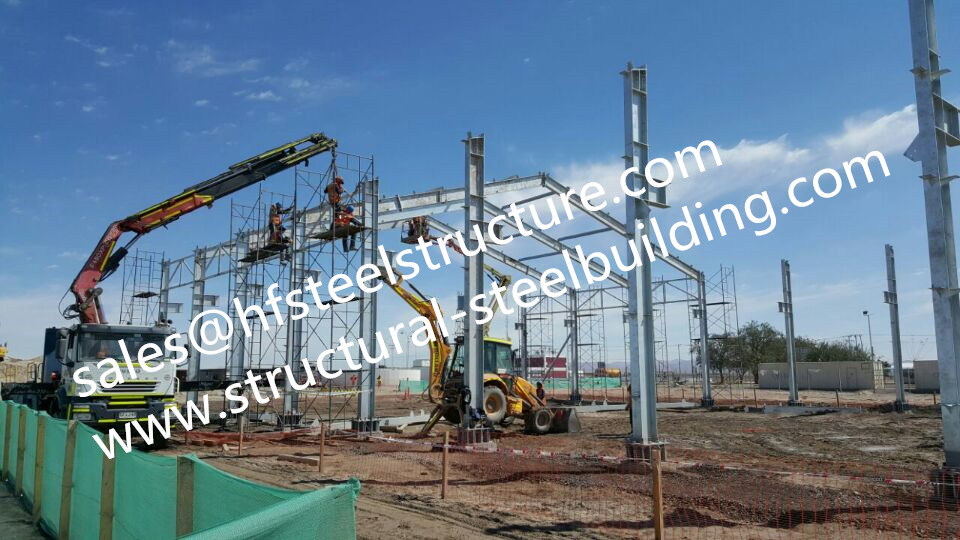 New Design Built Facility Buildings For Steel Industrial Warehouse And Showroom From China Contractor