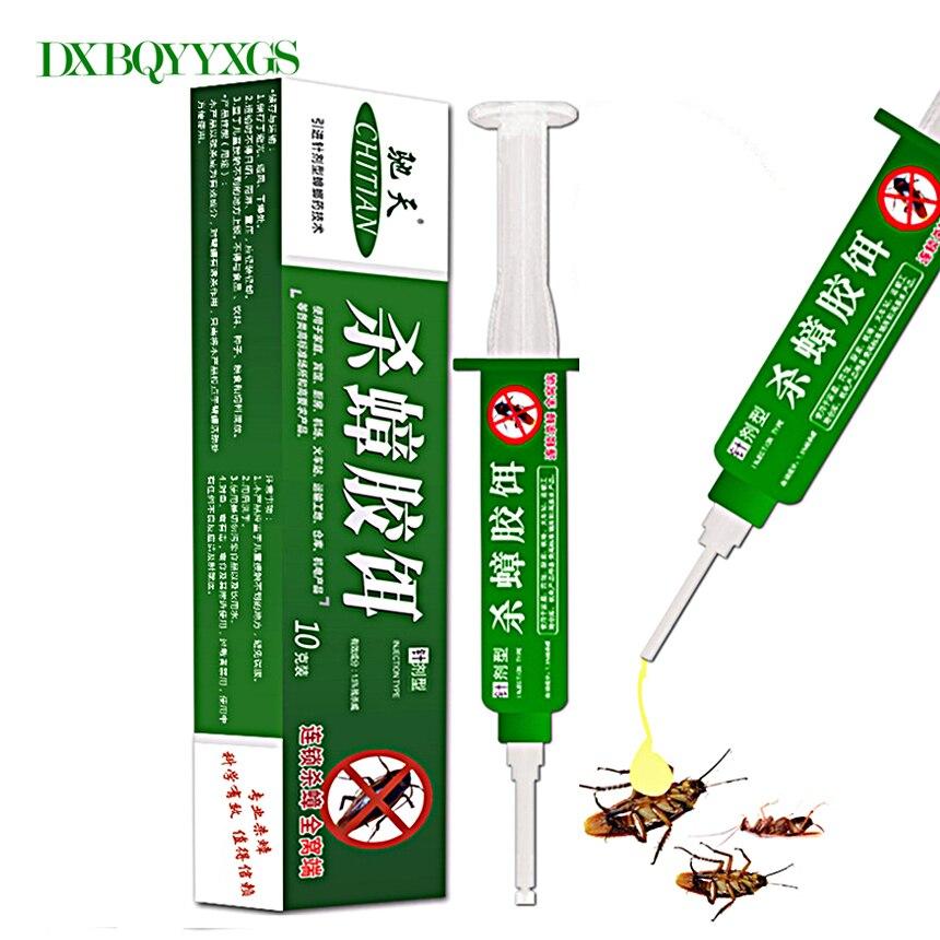 10 шт./компл. высокое качество прочность наркотиков убить таракана медицина гель Bait Ловушка нетоксичный эффекты распыления инсектицидов Борьба с вредителями