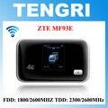 Zte mf93e 100 original desbloqueado 100mbps 4g lte fdd tdd wi-fi móvel roteador hotspot móvel