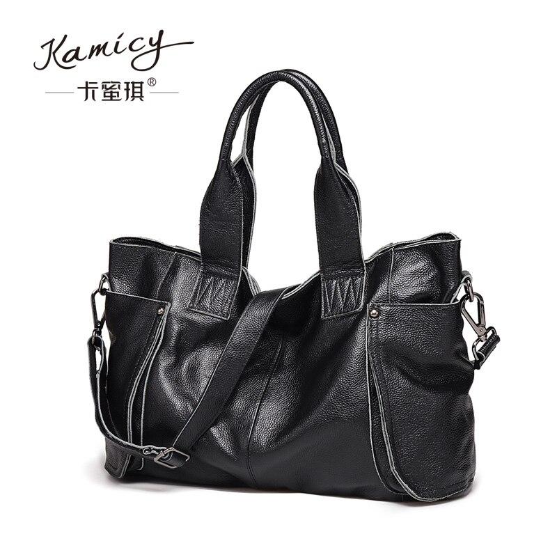 New popular retro handbag tote bags large capacity 2017 brand high quality single  shoulder  bag fashion leisure leather handbag