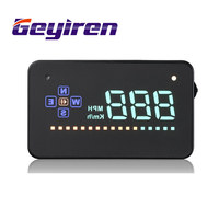 Geyiren A2 Electronics Head Up Display Auto HUD Windshield Projecto Auto Vehicle GPS HUD Car Display For Citroen accessories