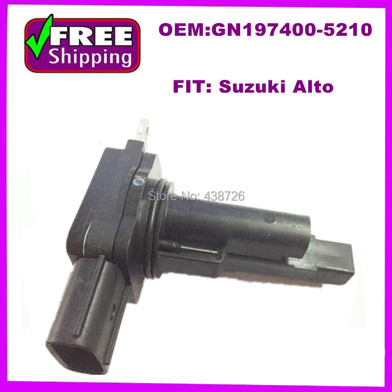 high quality Alto Air Mass Sensor flow SENSOR MAF sensor oem GN197400-5210 80JA