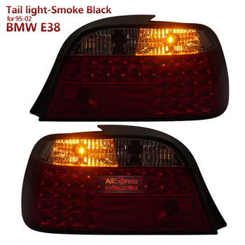 Smoke Black for BMW 7 Series E38 728 730 735 740 750 LED Tail light fit 1995-2002 year Car models SONAR brand Top Quality image