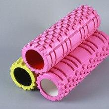 (10 pieces / lot wholesale) Foam Roller candy color EVA massage roller Yoga hollow column 33 * 14cm