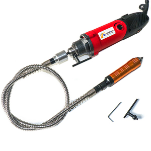 Image 5 - Tungfull Electric rinding Flexible Shaft Hose Drill Chuck Engraving Machine Engraving Pen Electric Drill Dremel Accessories