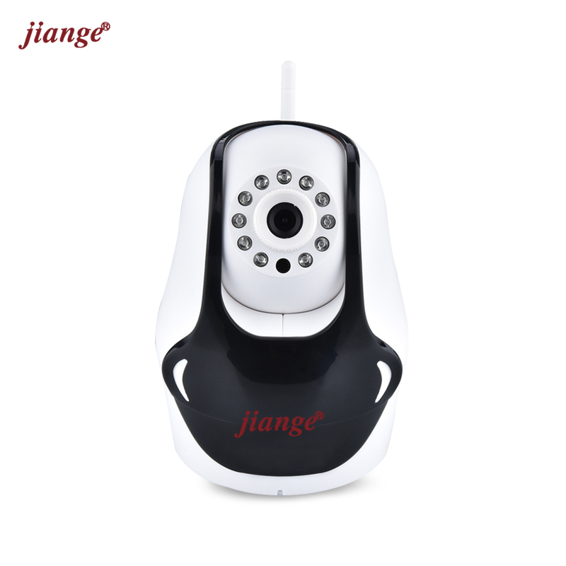 jiange Infrared Night Vision Wireless IP Camera With Two Way Audio Support TF Card 720P(HD) Home Security Camera System zilnk 720p wifi ip camera wireless smart home security two way audio hd night vision baby monitor support tf card onvif white