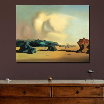 Wall art Salvador Dali transition moment Painting Living Room Home Decoration Oil Painting on Canvas Wall Painting 1