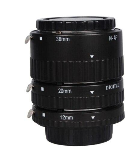 Электронные Маунт TTL Автофокус АФ Макро Удлинитель Кольцо набор для Nikon D7100 D5200 D3200 D800 D800E D5100 D7000 D3100