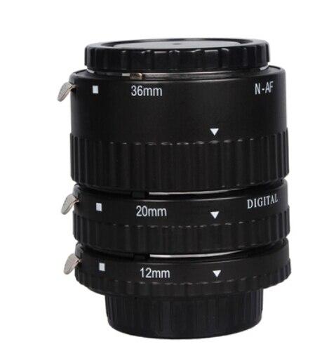 Montage électronique TTL Auto Focus AF Macro Tube d'extension anneau ensemble pour Nikon D7100 D5200 D3200 D800 D800E D5100 D7000 D3100