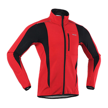 Thermal Cycling Jacket Warm Up Bicycle Clothing Bicycle MTB Cycling Jersey Windproof Sports Coat 6 Colors For Outdoor Sports