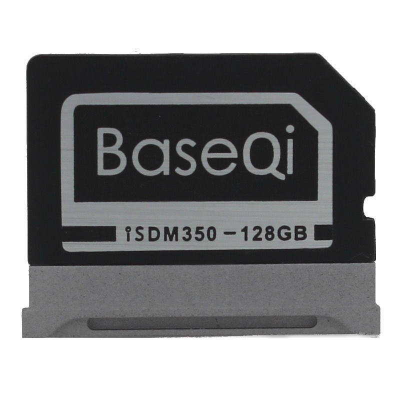 BASEQI Aluminum 128GB Memory Card For Microsoft Surface Book Storage Expansion Card high quality(Modle 350M) the memory book