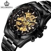 montres montre inoxydable noir