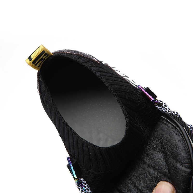 ERNESTNM 2019 nuevas zapatillas mujer 35-42 plataforma zapatillas blancas zapatos de crin botas casuales transpirables suaves zapatos gruesos de mujer