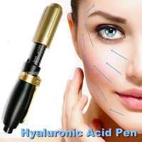 0,5 ML Hyaluronsäure Stift Sterile Zerstäuber Hyaluronsäure Stift Schönheit Gun Wasser Spritze Anti Falten Lip Heben Injection Gun Hautpflege