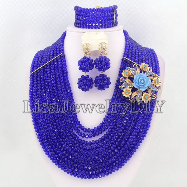 Popular African Party Crystal Beads Jewelry Sets African Bridal Wedding Beads Jewelry Sets HD3954Popular African Party Crystal Beads Jewelry Sets African Bridal Wedding Beads Jewelry Sets HD3954