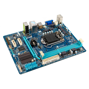 Image 2 - Gigabyte GA H61M DS2 Desktop Motherboard H61M DS2 H61 LGA 1155 For Core i3 i5 DDR3 16GB Micro ATX Used Mainboard