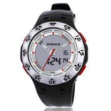 XONIX Brands Unique Vogue Men Swimming Digital LCD Quartz Outdoor Sports Watches Relogio Masculino Clock DB