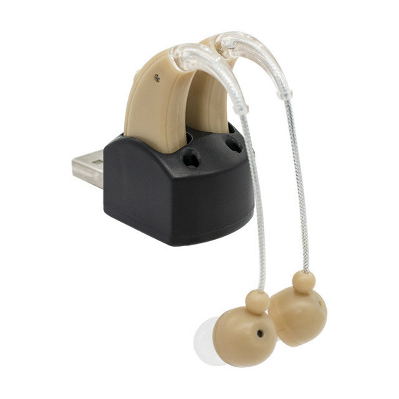 ear assistent behind ear BTE Rechargeable hearing aid deaf earphones deafness VOICE amplifier S 109S