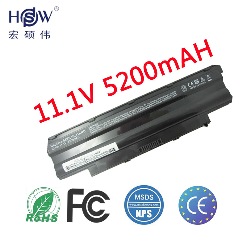 Аккумулятор для ноутбука HSW для аккумулятора Dell 14R N4010 13R N3010D N7010 N5010 N3010 J1KND N3110 N4050 N4110 N5010D N5110 N7010 аккумулятор