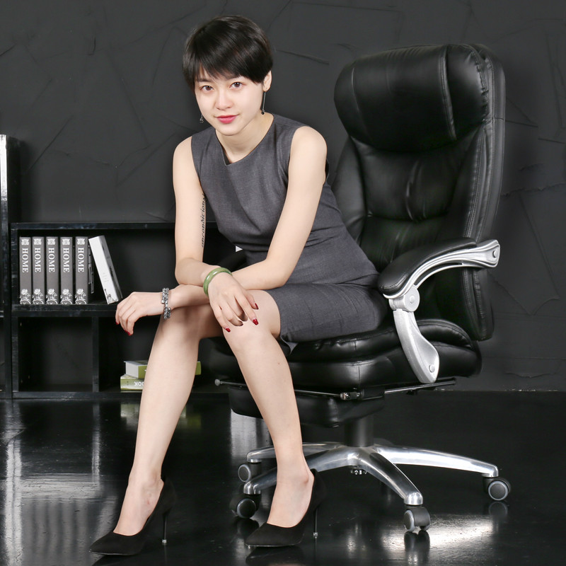 Luxurious Comfortable Office Chair Household Lifting Computer Chair Thickened 150/170 Degree Lying Boss Chair Seat Furniture