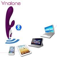 Nalone Phone Bluetooth Vibrator Wireless Remote Music Control Massager Sex Toy Voice Control Vibrating Waterproof Women