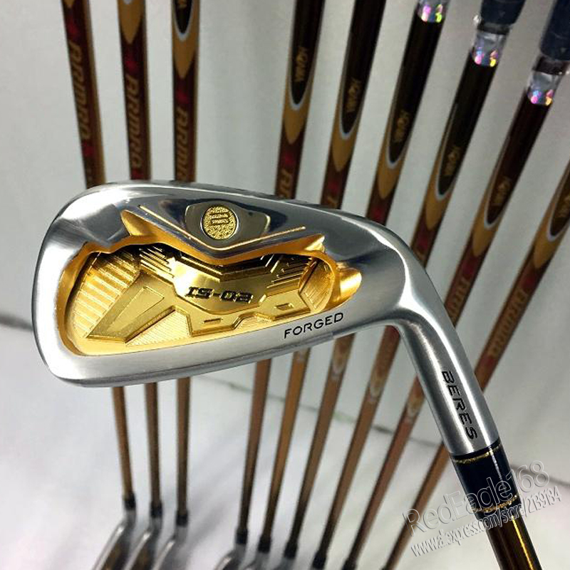 Image 2 - New mens Golf Clubs set S 02 4star Golf irons set 4 11.Aw.Sw with irons clubs Golf Graphite shaft Cooyute  Free shipping-in Golf Clubs from Sports & Entertainment