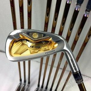 Image 2 - Nieuwe mensen Golfclubs set S 02 4 ster Golf irons set 4 11.Aw.Sw met irons clubs Golf Graphite shaft Cooyute Gratis verzending