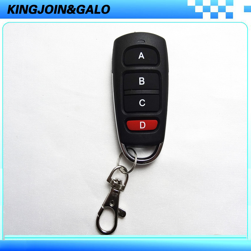 Transmitter keyfobs remote control for sliding and swing gate motor remote service discovery and control