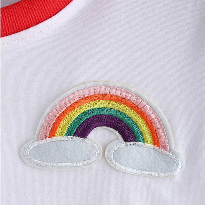 HTB19z.BJFXXXXbNXVXXq6xXFXXXZ - Rainbow Patch Embroidered Crop Tees Summer PTC 128