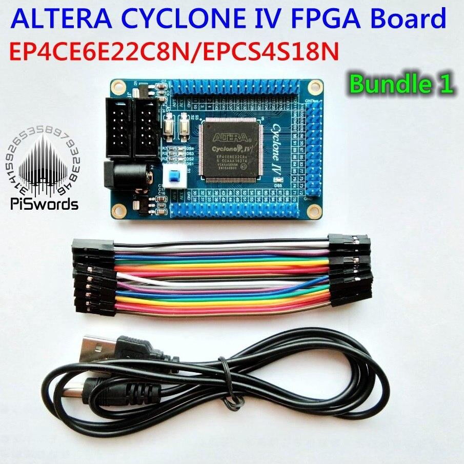 Fpga Altera Growth Core Board Equipment Cyclone Iv Ep4Ce Ep4Ce6E22C8N Board Blaster Usb Jtag Pattern Code Sch
