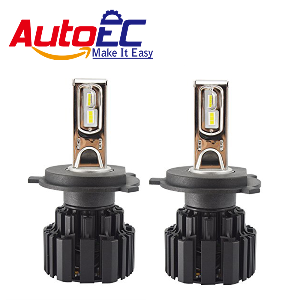 AutoEC 1 Set P9 H4 H7 D1S D2S D3S 110W 13600LM LED Headlight Kit P9 LED Head Lamp Light Bulb Leds White 6000K#LN69 high quality 12v car led headlight d1s d1r d3s d3r bulbs 6000k white led headlamp 36w auto d1s aluminium lamps for vw buick