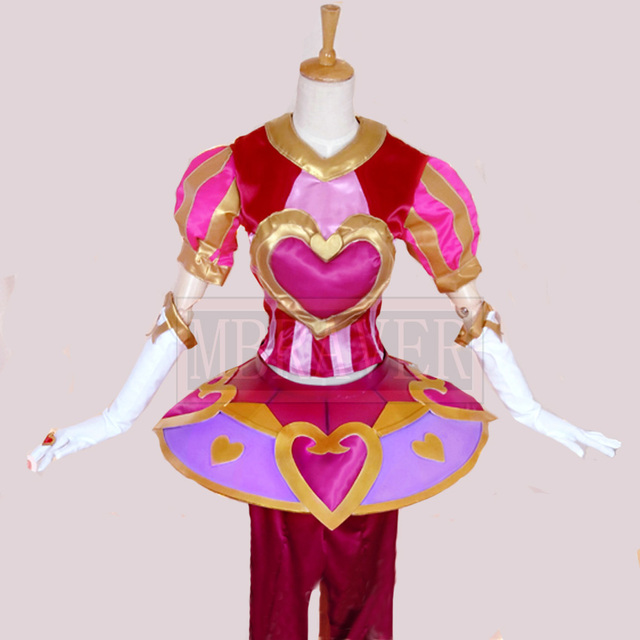 lol valentines day orianna cosplay costume uniform custom made any size - Valentine Costumes