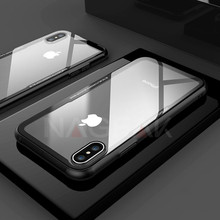 High Quality Tempered Glass Case For iPhone X 10 Cases 0.55MM Protective Glass Cover For iPhone