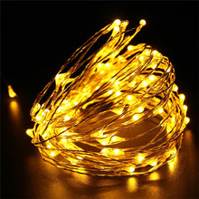 DIY2/3/5/10M USB LED Copper Wire String Waterproof holiday Light Christmas garland Decoration Fairy Light Strip Lamp Xmas Party