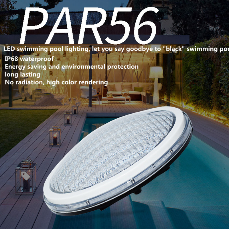 WIFI LED Pool Lights Bulb RGB Muliti Color Swimming Par56 Under Water Replacement 16W 18W DC12V IP68