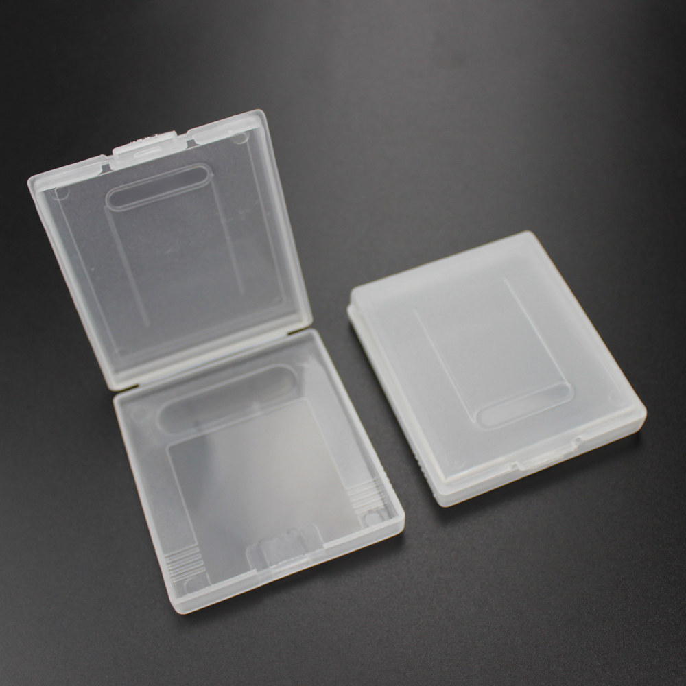 TingDong 100PCS Clear Plastic Game Cartridge Case Dust Cover For Nintendo GameBoy Color GBC GBP