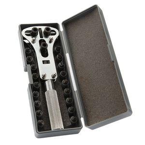 Новый Регулируемый набор инструментов для ремонта с винтовыми часами и задней крышкой
