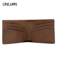 Genuine Leather Wallet Handmade Retro Mens Wallet Style Men Women Multi Functional Wallet Purse Card