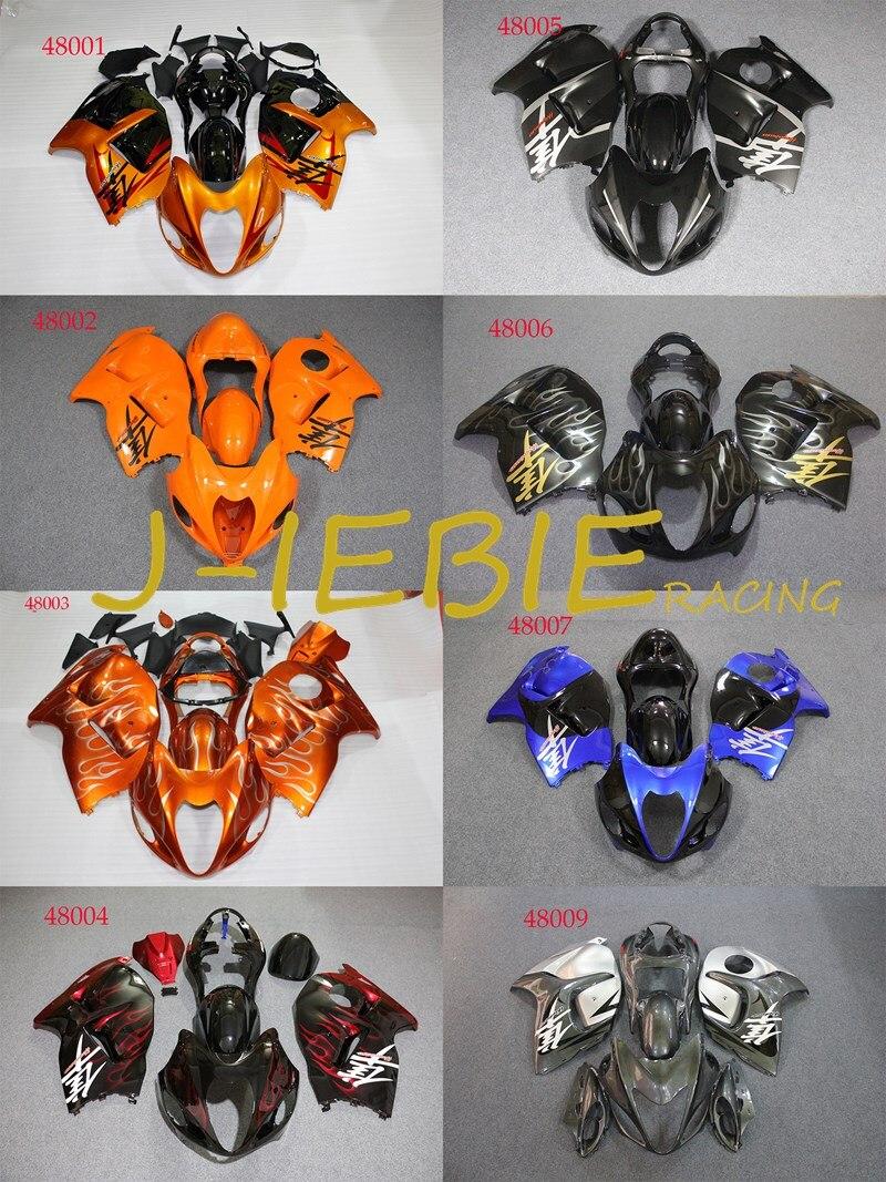 ABS Injection Fairing Body Work Frame Kit for SUZUKI GSXR 1300 GSXR1300 Hayabusa 1999 2000 2001 2002 2003 2004 2005 2006 2007