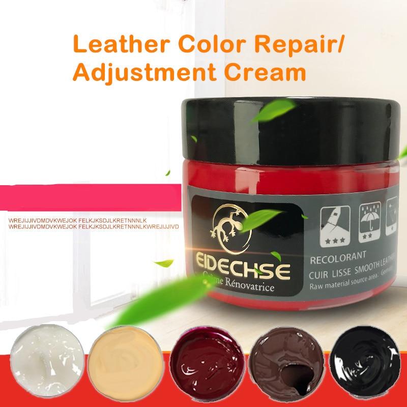 Liquid Skin Leather Repair Kit No Heat Leather Repair Tool Auto Car Seat Sofa Coats Holes Scratch Cracks Rips Restoration Polishes     - title=