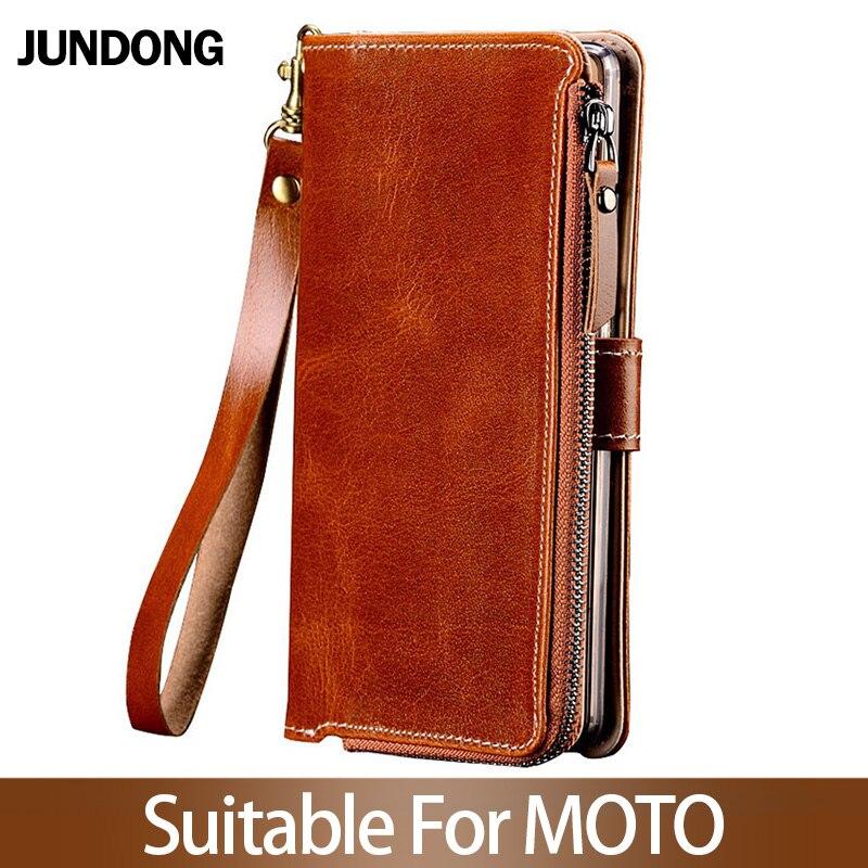 Pour MOTO G6 G7 Play Z2 Z3 Z4 Force P30 P40 étui de jeu multifonction portefeuille téléphone sac de haute qualité sac à main