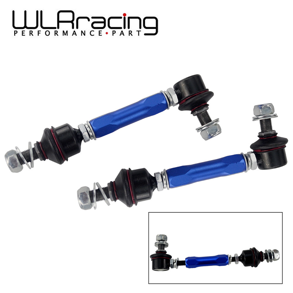 165mm-210mm Ball Joint Adjustable Roll Sway Bar End Link For Lexus GX460 J150 Toyota FJ Cruiser Nissan Patrol Y60 Y61 WLR-SEL23