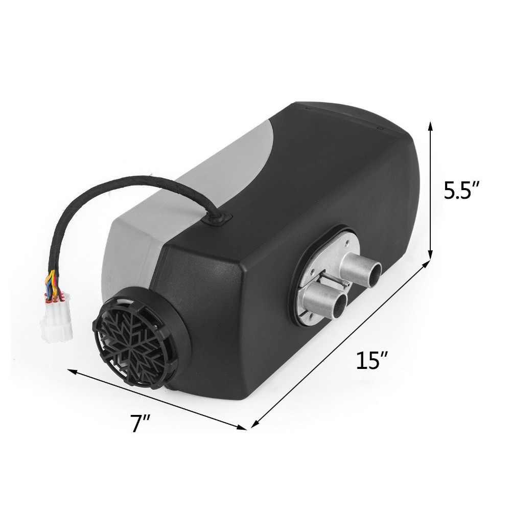 Riscaldatore Aria Diesel per Autocarro Camion Automobili Autobus Barche VEVOR 8KW Riscaldatore da Parcheggio Kit Riscaldatore Diesel Air Heater Temperatura -40℃~+20℃ 12V Riscaldatore ad Aria Diesel
