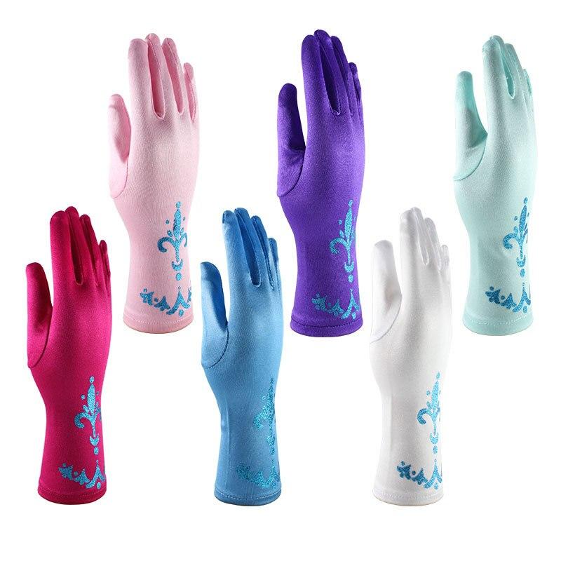 Rękawiczki dziecięce Frozen Cosplay Akcesoria Rękawiczki Print - Odzież dla niemowląt - Zdjęcie 2