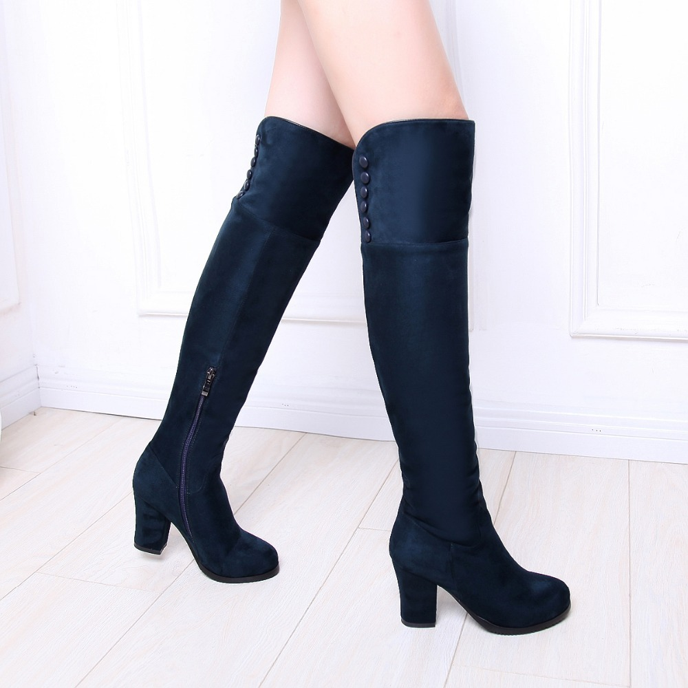 Aliexpress.com : Buy Huachen Free shipping over the knee high long ...