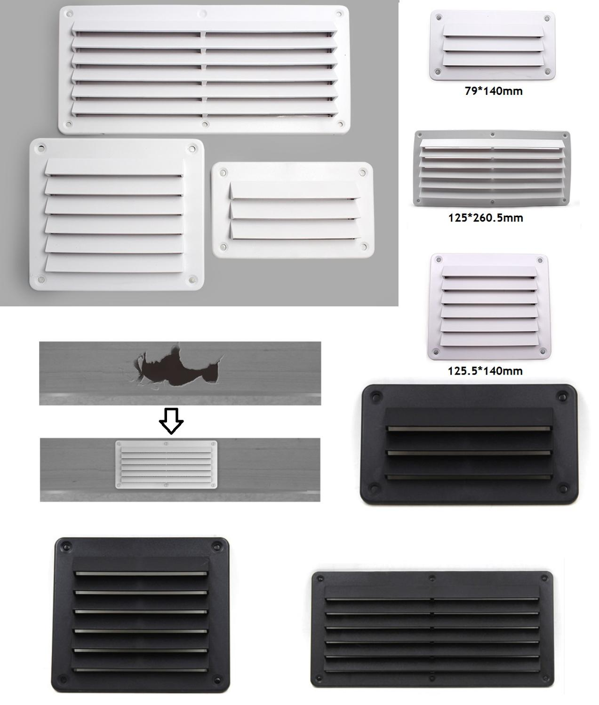 Premintehdw Plastic Air Vent Ventilator Grille Cover Ventilation RV Wall Mount