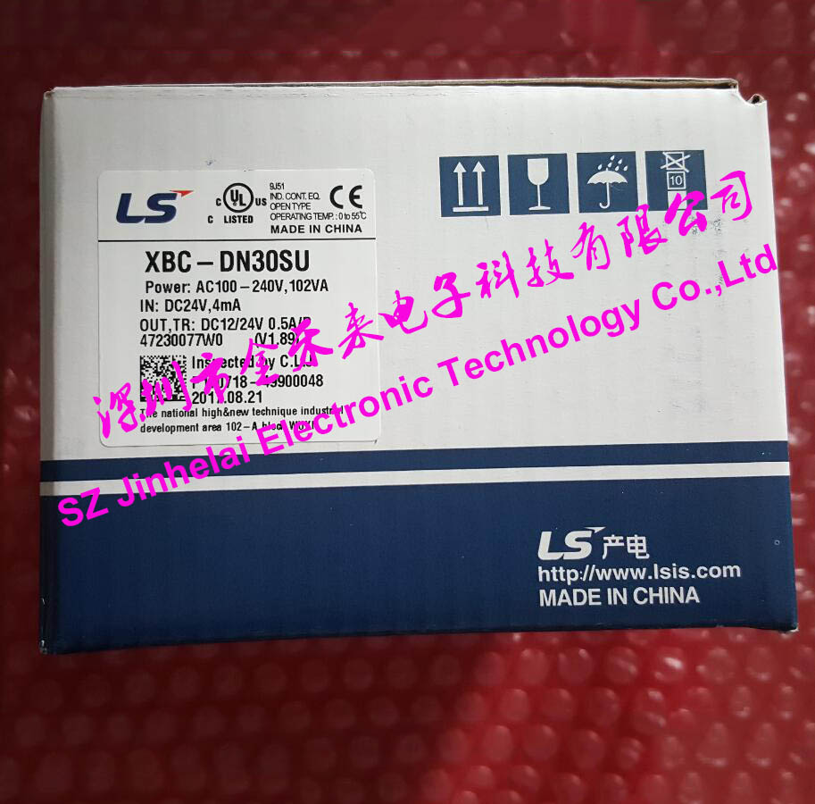 LS(LG) XBC-DN30SU New and original PLC controller 100% new and original g6i d22a ls lg plc input module