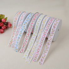 Floral Embossing Craft Edging Ribbon Belt Edge 2cm*20 Yards Yard Clothing Home Improvement Accessories Material Polyester